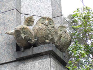 フクロウのシンボル