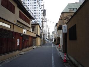 赤坂の料亭街