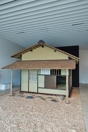 国宝 茶室「待庵」(千利休作)の原寸大の再現